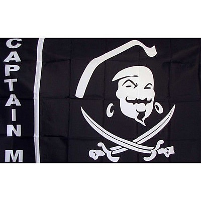 NeoPlex Captain Morgan Pirate Traditional Flag