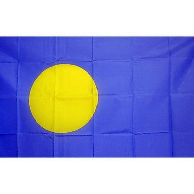 NeoPlex Palau Country Traditional Flag
