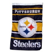 NeoPlex Pittsburgh Steelers House Banner Vertical Flag