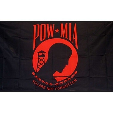 NeoPlex Pow Red Traditional Flag