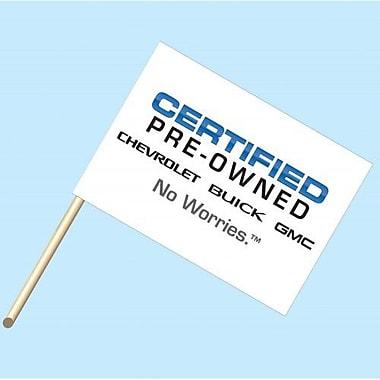 NeoPlex Chevrolet Buik GMC Certified Pre Owned Garden Flag