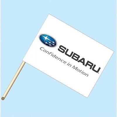 NeoPlex Subaru Confidence in Motion Garden Flag