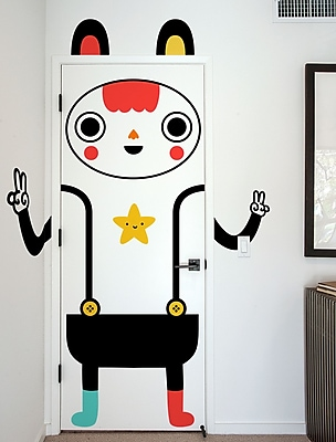 BLIK Inc Mr. Awesome Wall Decal