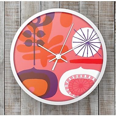 BLIK Inc 10'' Flower Wall Clock