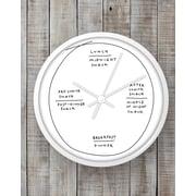 BLIK Inc 10'' Snack Time Clock