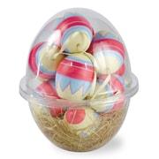 Boston International 12 Piece Cosmic Egg Pod Ball Ornament Set