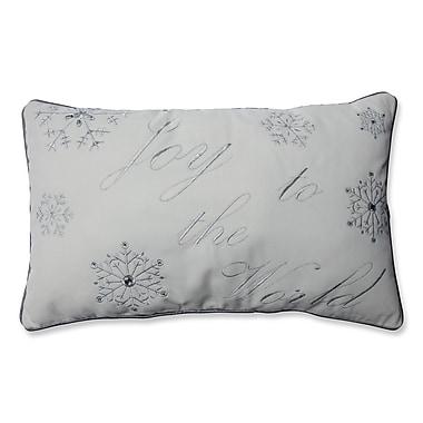 Pillow Perfect Joy to the World Lumbar Pillow