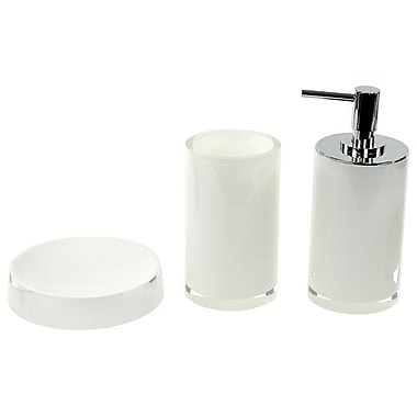 Gedy by Nameeks Yucca 3-Piece Bathroom Accessory Set