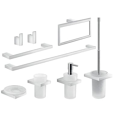 Gedy by Nameeks Lanzarote 9 Piece Bathroom Hardware Set