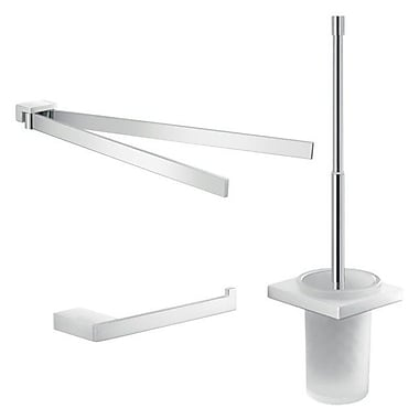 Gedy by Nameeks Lanzarote 3 Piece Bathroom Hardware Set