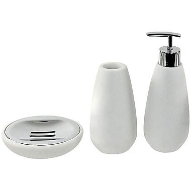 Gedy by Nameeks Opuntia 3-Piece Bathroom Accessory Set