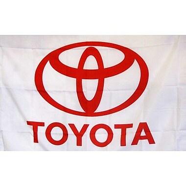 NeoPlex Toyota Auto Logo w/ Words Traditional Flag
