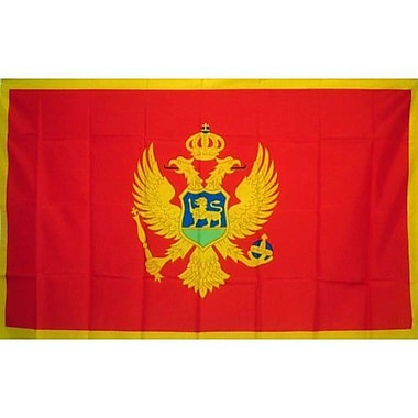 NeoPlex Montenegro Country Traditional Flag
