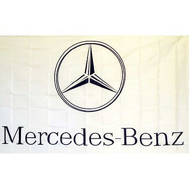 NeoPlex Mercedes Traditional Flag