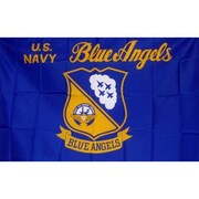 NeoPlex Navy Blue Angels Traditional Flag