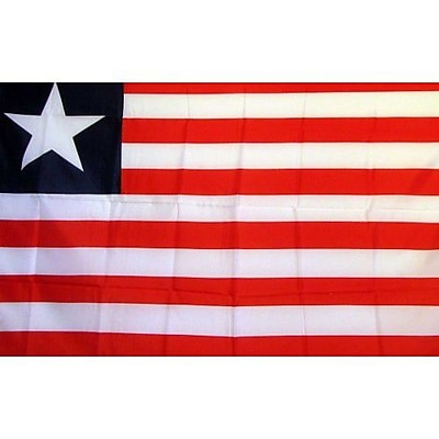 NeoPlex Liberia Country Traditional Flag