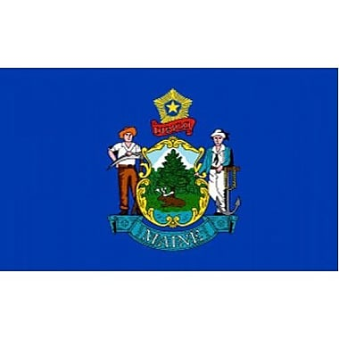 NeoPlex Maine Traditional Flag