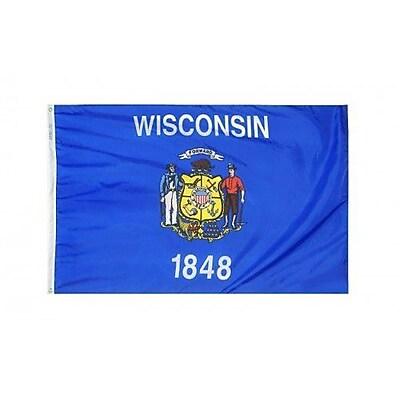 NeoPlex Wisconsin Glo Traditional Flag