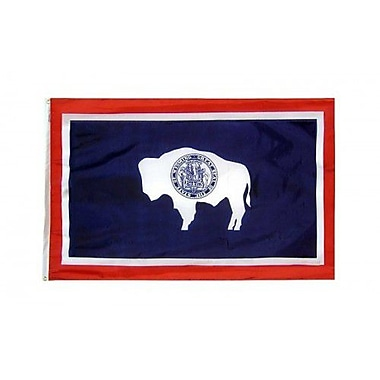 NeoPlex Wyoming Glo Traditional Flag