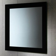 Gedy by Nameeks Maine Vanity Mirror; Black