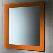 Gedy by Nameeks Maine Vanity Mirror; Orange