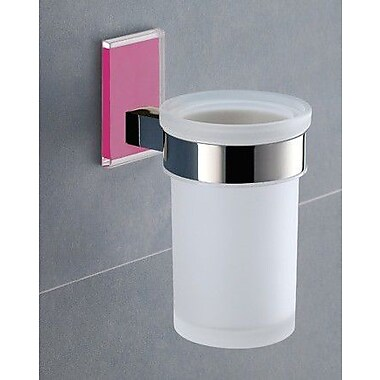 Gedy by Nameeks Maine Toothbrush Holder; Pink