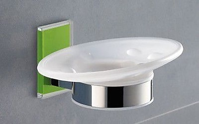 Gedy by Nameeks Maine Soap Dish; Green