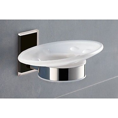 Gedy by Nameeks Maine Soap Dish; Black