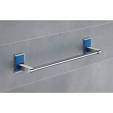 Gedy by Nameeks Maine 14'' Wall Mounted Towel Bar; Blue