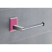 Gedy by Nameeks Maine Wall Mounted Toilet Paper Holder; Pink