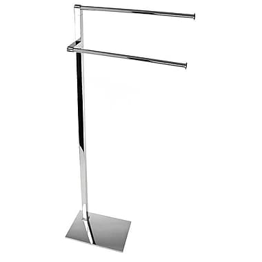 Gedy by Nameeks Maine Free Standing Towel Stand; Chrome