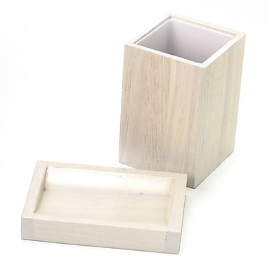 Gedy by Nameeks Papiro 2-Piece Bathroom Accessory Set; White