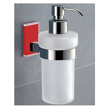 Gedy by Nameeks Maine Soap Dispenser; Red