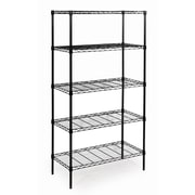 Seville Classics 60'' 5 Shelf Shelving Unit
