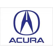 NeoPlex Acura Auto Logo w/ Words Traditional Flag