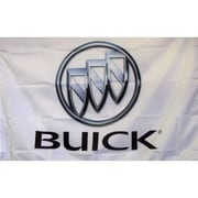 NeoPlex Buick Auto Logo w/ Words Traditional Flag