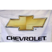 NeoPlex Chevrolet Auto Logo w/ Words Traditional Flag