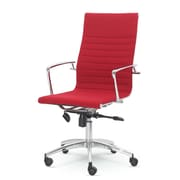 Winport Industries Dynamic Desk Chair; Red
