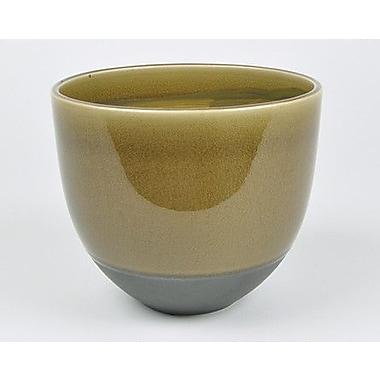 D&M Depot Split Ceramic Pot Planter; 6'' H x 7.5'' W x 7.5'' D