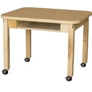 Wood Designs Laminate 22'' Open Front Desk