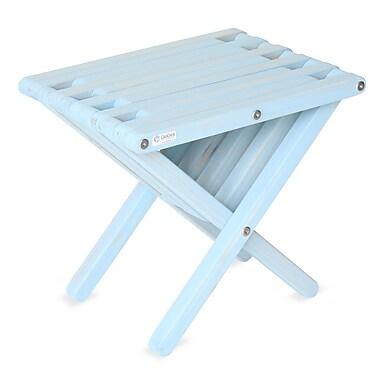 Glodea End Table; Shipmate Blue
