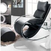 The Collection German Furniture Niche Rocking Chair; Black