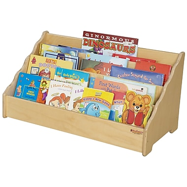 Wood Designs 4 Compartment Book Display
