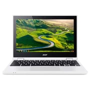 "Acer CB5-132T-C7R5 11.6"" Touch Screen Chromebook, 1.6 GHz Intel Celeron N3160, 32 GB eMMC, 4 GB DDR3L, Chrome"