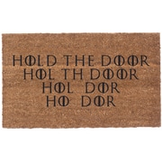 Coco Mats N More Hold the Door Vinyl Backed Doormat