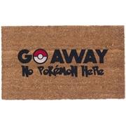 Coco Mats N More Colored Pokemon Go Away Doormat