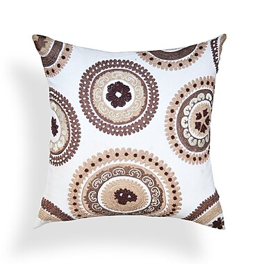 A1 Home Collections LLC Suzani Cotton Throw Pillow