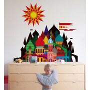 BLIK Inc 3 Piece Imaginary Castle Wall Decal Set; 72'' H x 72'' W
