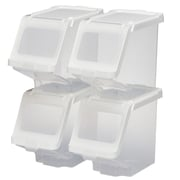 Buddeez Stackable Storage Bin (Set of 4)