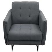 Diamond Sofa Hampton Arm Chair; Graphite